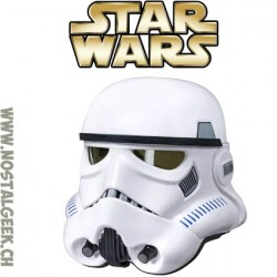 Star Wars Casque impérial de Stormtrooper Edition Collector Black series