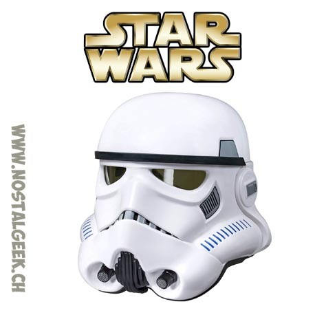 Star Wars Imperial Stormtrooper Helmet Collector Black series Edition