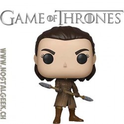 Funko Pop! TV Game of Thrones Arya Stark (w/ Two-Headed Spear) Vinyl Figure