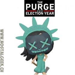 Funko Pop Movies The Purge Election Year Lady Liberty Vinyl Figure