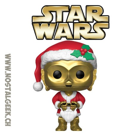 Funko Pop Star Wars Holiday C-3PO as Santa Vinyl Figure