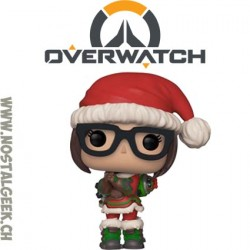 Funko Pop Overwatch Christmas Tracer (Elf) Exclusive Vinyl Figure