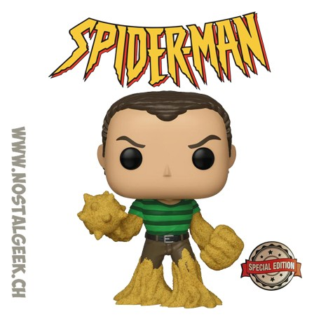 Funko Pop Spider-man Sandman (First Appearance) Exclusive Vinyl Figure
