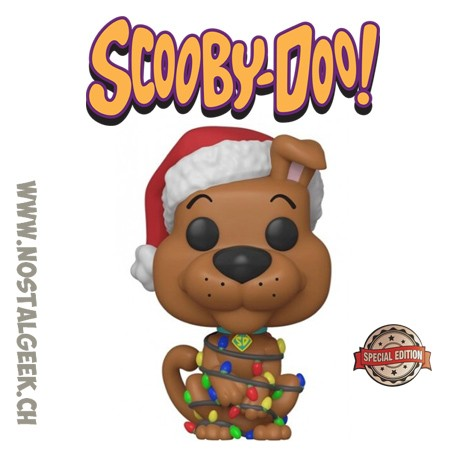 Funko Pop! Animation Scooby-Doo (Holiday) Exclusive Vinyl Figure