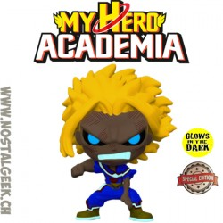 Funko Pop! Anime My Hero Academia All Might (Weakened) Phosphorescent Edition Limitée