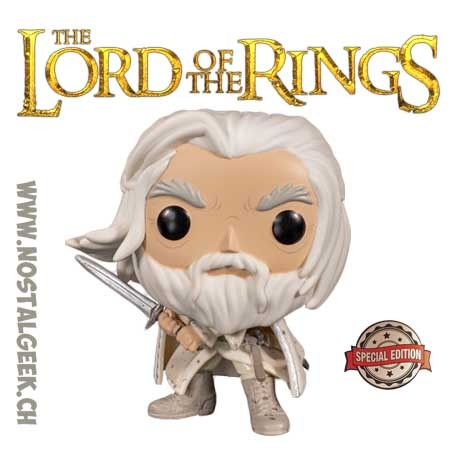 Funko Pop! Lord of The Rings Gandalf the White Exclusive Vinyl Figure