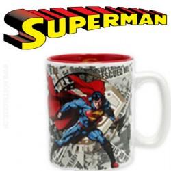 DC COMICS Coffret cadeau Superman Mug + Porte-clés + Badges