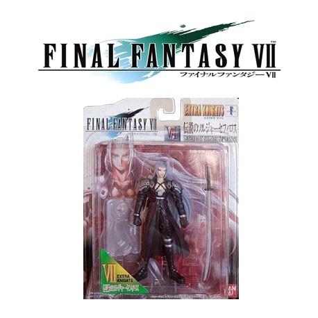 Final Fantasy VII 7 Legendary Soldier Sephiroth Extra Knights Figure Bandai