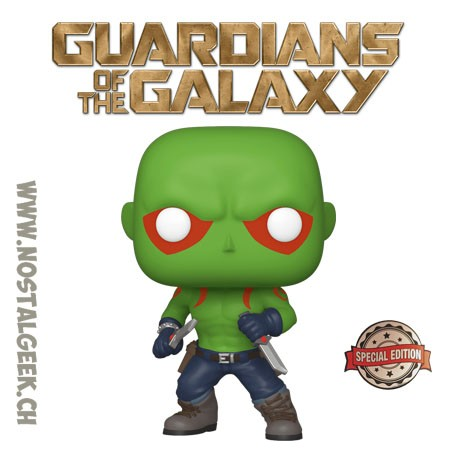 Funko Pop Marvel Guardians of the Galaxy Drax (First Appearance) Exclusive Vinyl Figure