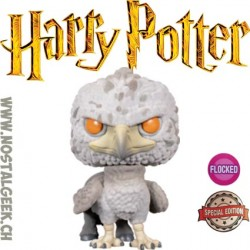 Funko Pop Films Harry Potter Buckbeak (Flocked) Edition Limitée
