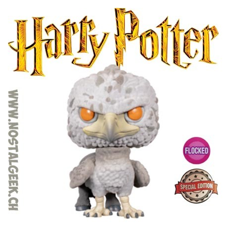 Funko Pop Films Harry Potter Buckbeak (Flocked) Vinyl Figure