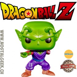 Funko Pop Dragon Ball Z Piccolo (One Arm) (Metallic)Edition Limitée