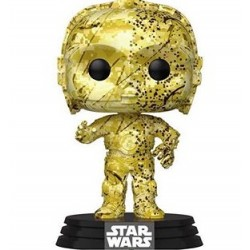 Funko Pop Star Wars C-3PO (Futura) Exclusive Vinyl Figure