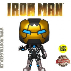 Funko Pop Marvel Iron Man MK39 Phosphorescent Edition Limitée
