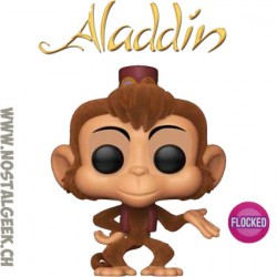 Funko Pop Disney Aladdin Abu Flocked Exclusive Vinyl Figure