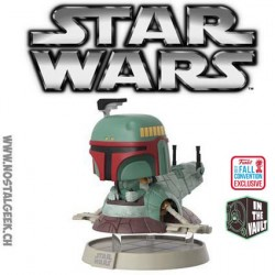 Funko Pop Rides NYCC 2017 Star Wars Boba Fett (w/ Slave 1) Vaulted Exclusive Vinyl Figure