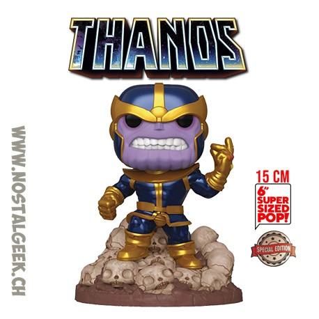 Funko Pop! Marvel 15 cm Thanos (Snap) Exclusive Vinyl Figure