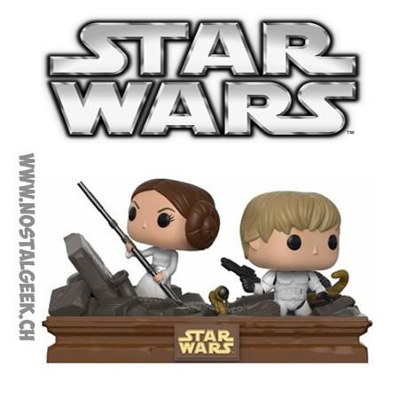 Funko Pop Star Wars Movie Moments R2-D2 & C-3PO Escape Pod Landing Limited Vinyl Figure
