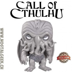 Funko Pop Book Cthulhu (Black & White) Exclusive Vinyl Figure