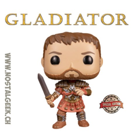Funko Movies Gladiator Maximus (Armor)Exclusive Vinyl Figure