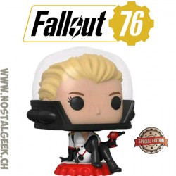 Funko Pop Games Fallout 76 Nuka-Girl Exclusive Vinyl Figure