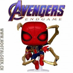 Funko Pop Marvel Avengers Endgame Iron Spider (with Nano Gauntlet) Vinyl Figure