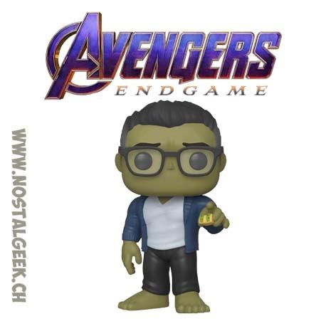 Funko Pop Marvel Avengers Endgame Hulk (with Tacos) Vinyl Figure