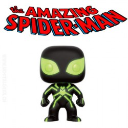 Funko Pop! Marvel Spider Man Stealth Costume GITD Glow in the Dark Limited Edition