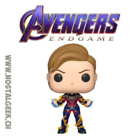 Funko Pop Marvel Avengers Endgame Captain Marvel Vinyl Figure