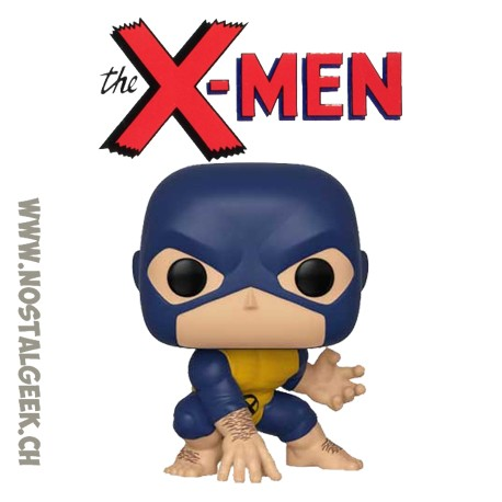 Funko Marvel 80th Anniversary X-Men First Appearance Beast Vinyl Figure