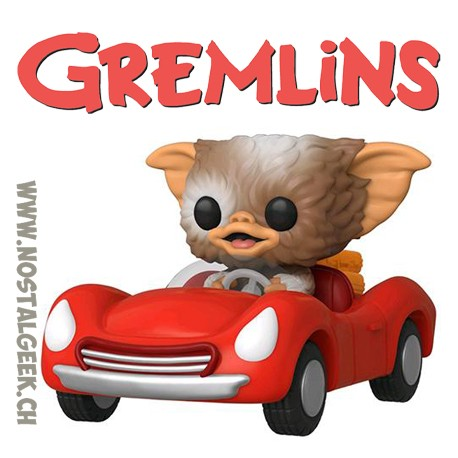 Funko Pop Rides Movies Gremlins Gizmo in Red Car Exclusive Vinyl Figure