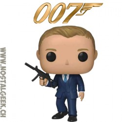 Funko Pop Movies James Bond 007 Daniel Craig From Quantum of Solace vinyl Figure