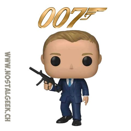 Funko Pop Movies James Bond 007 Daniel Craig From Quantum of Solace