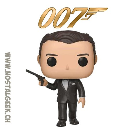Funko Pop Movies James Bond 007 Pierce Brosnan From Goldeneye vinyl Figure
