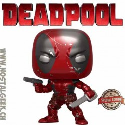 Funko Pop Marvel Deadpool (First Appearance) (Metallic) Exclusive Vinyl Figure