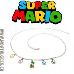 Super Mario Yoshi and Eggs necklace