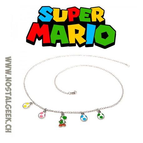 Super Mario Yoshi and Eggs necklace