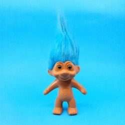 Troll 10 cm blue hair second hand figure