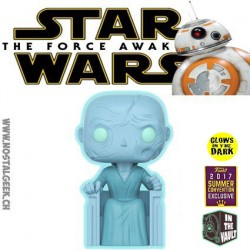 Funko Pop! 15 cm SDCC 2017 Star Wars Supreme Leader Snoke Glows in the Dark Exclusive Vaulted Vinyl Figure