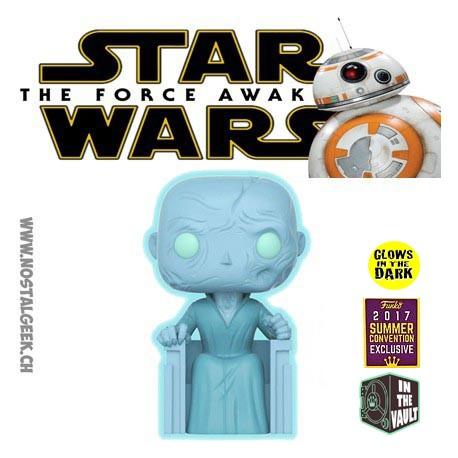 Funko Pop! 15 cm SDCC 2017 Star Wars Supreme Leader Snoke Glows in the Dark Exclusive Vaulted Vinyl Figure