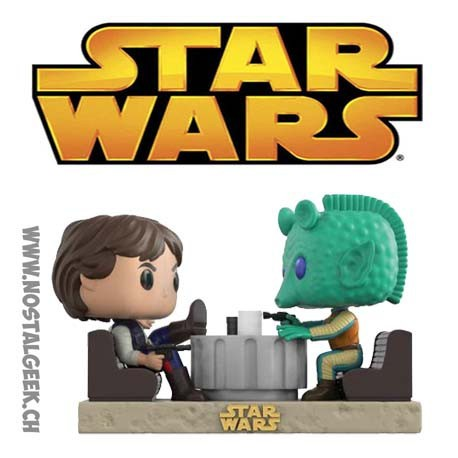 Funko Pop Star Wars Moments Han Solo & Greedo Cantina Faceoff Edition Limitée