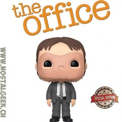 Funko Pop The Office Dwight Schrute (CPR Dummy Mask) Exclusive Vinyl Figure