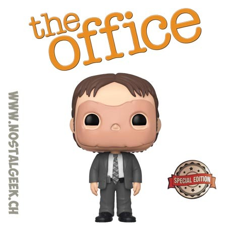Funko Pop The Office Dwight Schrute (CPR Dummy Mask) Edition Limitée