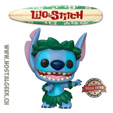 Funko Pop Disney Lilo & Stitch - Stitch Hula Edition Limitée