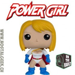 Funko Pop DC Power Girl Vaulted Vinyl Figure