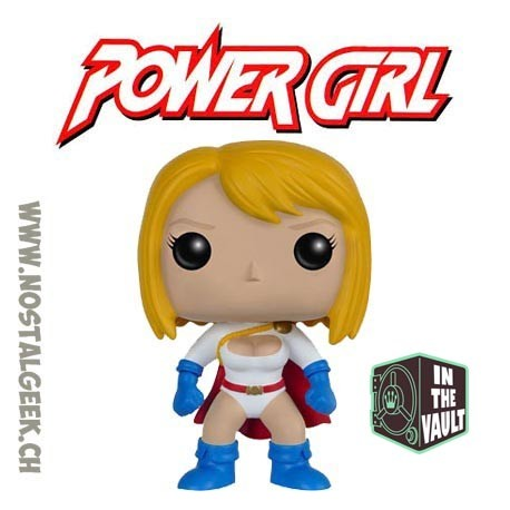 Funko Pop DC Power Girl Vaulted Vinyl Figure