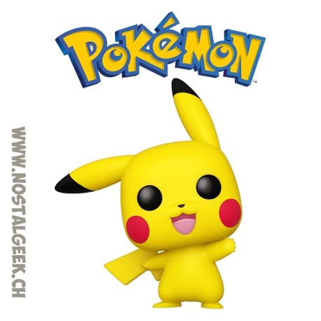 Funko Pop Pokemon Pikachu (Waving) Vinyl Figure