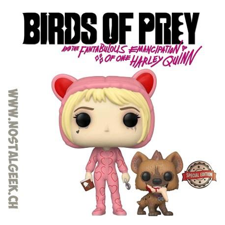 Funko Pop Films Birds of Prey Harley Quinn Broken Hearted Edition Limitée