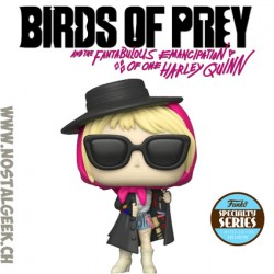 Funko Pop Films Birds of Prey Harley Quinn Incognito Edition Limitée