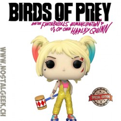 Funko Pop Movies Birds of Prey Harley Quinn Boobytrap Battle Hearted Exclusive Vinyl Figure